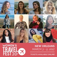 Women's Travel Fest, March 3 – 5, 2017 in New Orleans