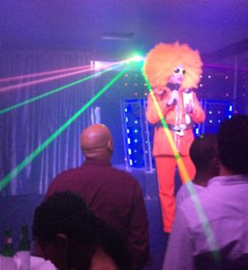 A spirited drag show at Fogoo Discotec in Santo Domingo, Dominican Republic. (Photo: Nicole Clausing)