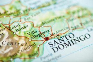 Santo Domingo on the map. (Photo: Courtesy of sheknows.com)