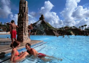Disney's Coronado Springs Resort's Coronado Family Pool in Orlando, Florida. (Photo: Courtesy of Walt Disney World)