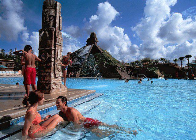 Disney's Coronado Springs Resort's Coronado Family Pool in Orlando, Florida. (Photo: Courtesy of Walt Disney World)