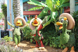 Disney's Coronado Springs Resort's Tres Caballeros in Orlando, Florida. (Photo: Nicole Clausing)
