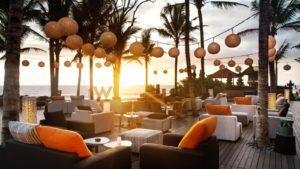 The W Bali's WooBar at Sunset (Photo: W Bali)