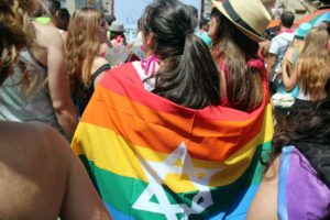 """Women for a Change"" was the theme for Tel Aviv Pride 2016. (Photo: Courtesy of Curve Magazine)"