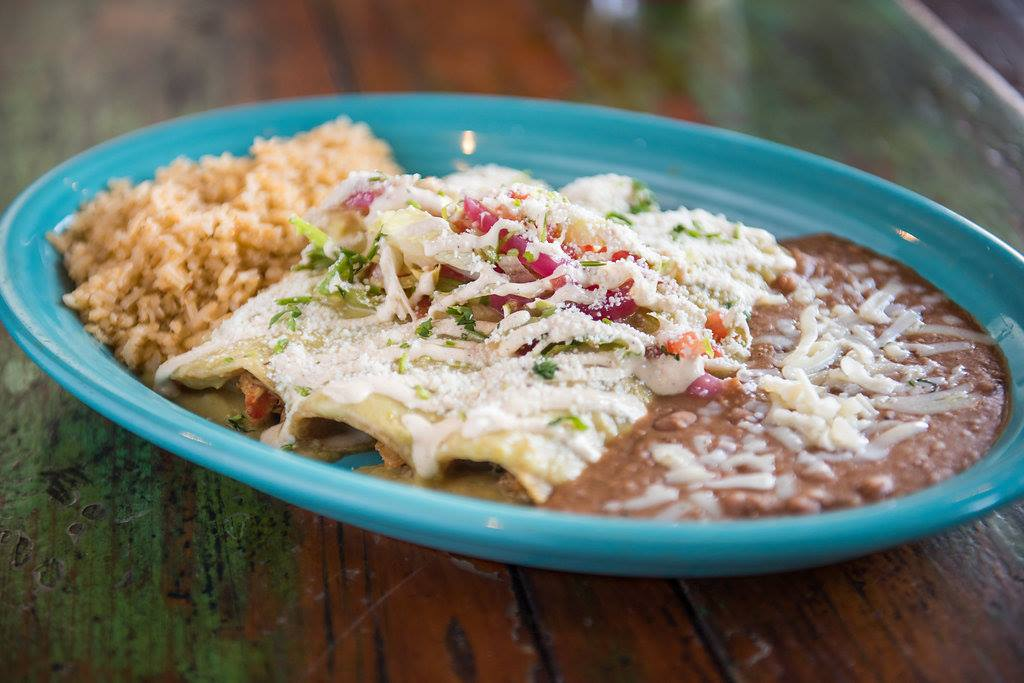 Del Sur Mexican Cantina's enchiladas (Photo: Courtesy of Del Sur Mexican Cantina)