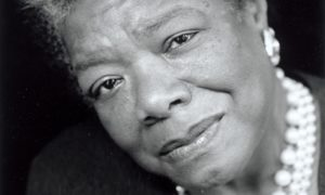Award-winning poet and author Maya Angelou (Photo: Courtesy of Flavorwire)