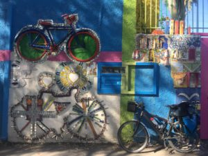 Bike art in Athens, Greece. (Photo: Courtesy of TransBike Europe)