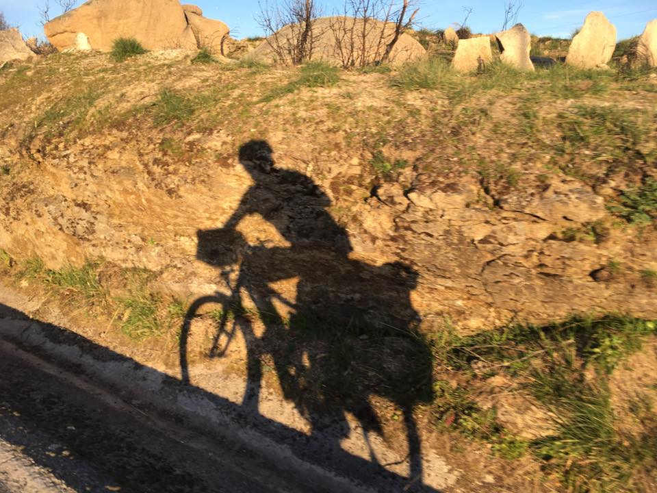 Spanish trans man cyclist Bart Bloem cycles through Europe in a journey of a lifetime. (Photo: Courtesy of TransBike Europe)