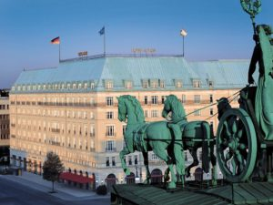 Berlin's iconic 5-star hotel The Adlon Kempinski Hotel. (Photo: Courtesy of Booking.com)