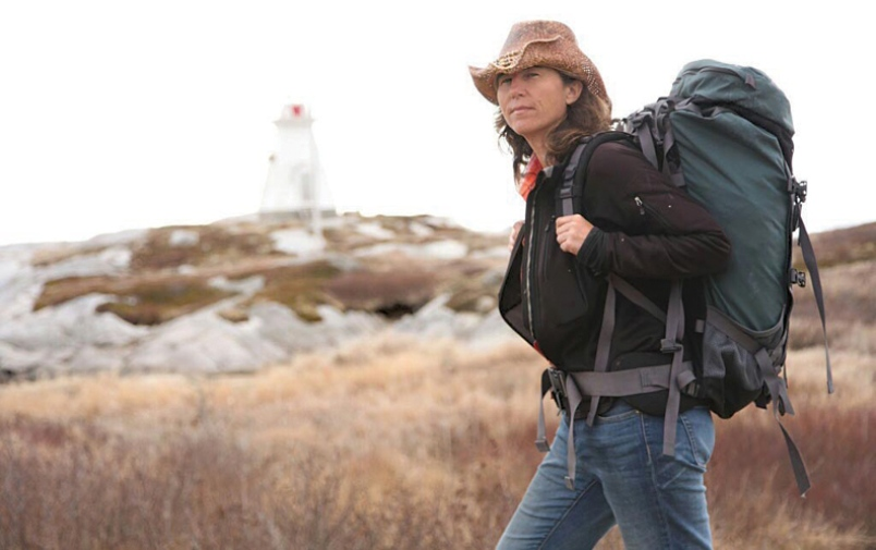 Dianne Whelan, film-maker and adventurer, set out on her 500 Days in the Wild following the Trans Canada Trail, filming and blogging about it on the way. (Photo: Courtesy of Coast Reporter)