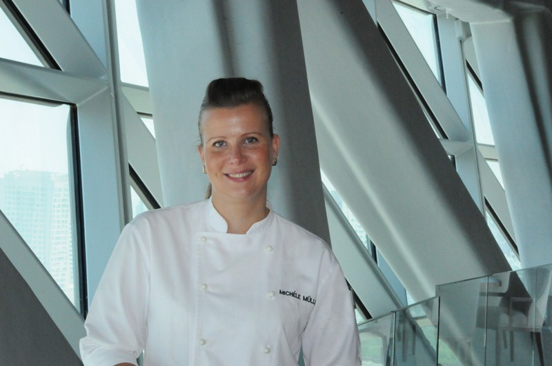 Michele Muller, Berlin's first and only executive chef at a luxury 5-star hotel chef, will take over as chef de cuisine at the Adlon Kempinski Hotel. (Photo: Courtesy of PRLeap)