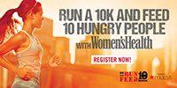 RUN 10 FEED 10, 8 a.m. - 12 p.m., Sunday, October 22, 2017