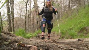 Paralyzed hiker Stacey Kozel takes on some of the United State's toughest trails. (Photo: Courtesy of WVLT)