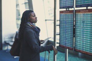 American Airlines Black women flight attendants