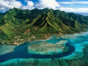 Moorea Island in the Cocos Island National Park in Costa Rica