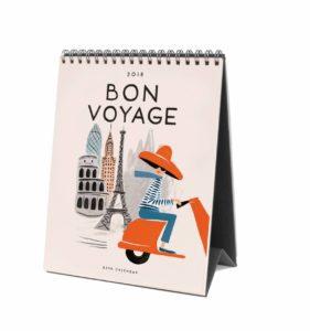 Rifle Paper Co.'s Bon Voyage 2018 Calendar