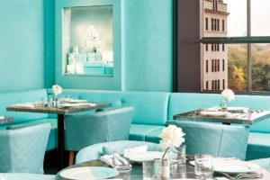 Blue Box Cafe at Tiffany and Co.