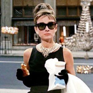 """Holly Golightly, played by Audrey Hepburn, in """"Breakfast At Tiffany's"""""""