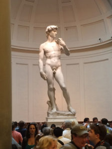 David Galleria dell'Accademia Florence Italy