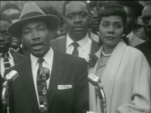 Martin Luther King Jr. and Coretta Scott King