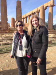 Phyllis Stoller, founder of the women's travel group in Palermo, Italy.