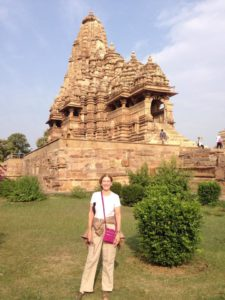Phyllis Stoller, founder of the Women's Travel Group, in India
