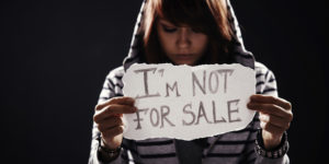'I'm not for sale' end human trafficking